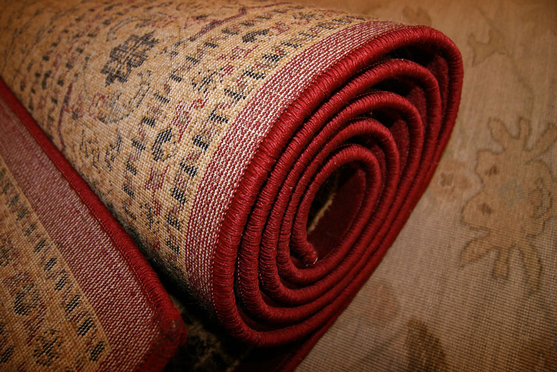 desinfectar una alfombra