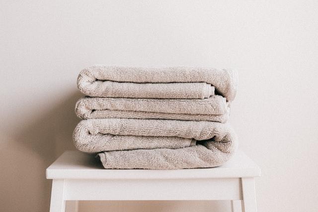 toalla ennegrecida
